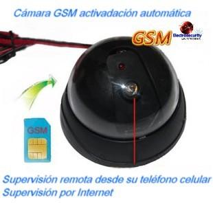 CÁMARA GSM DE VIGILANCIA REMOTA